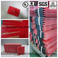 red arc-resistant structures base material gpo3 polyester glass mat laminates