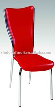 cheap dinner chairs red color