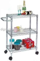 2013 Hot Selling House Wire Shelf Utility Cart-11 Year Professional Manufacturer