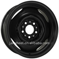 Cheap Custom Black 15 inch 4 Stud Steel Wheels