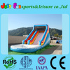 2013 hot sale inflatable wet slide for adults