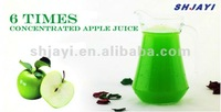 6 times concentrated apple juice