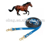 horse racing products. endurance pvc reins with rubber grip
