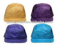 2012 Best quality polyester 5 panel flat bibi snapback caps and hats