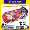 Gas powered on road racing car 703 huanqi 1 10 scale model hobby car with 15cxp engine speed up to 60-70km/h