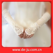 Glove White Decoration Bridal Gloves Lace Sleeves TO Add To Wedding Dress
