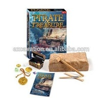 Archaeology Pirate Treasure Dig and Discover kit