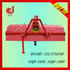 Stubble chopping rotary farm tractor cultivator for paddy field