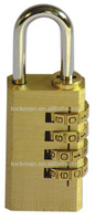 High Quality Combination Brass Padlock(SS-005)