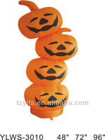 inflatable smile pumpkin for halloween heads decorations