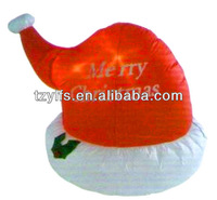 Custom Christmas dancing santa claus hat