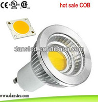 5w dimmable COB GU10 led spotlight with CE/RoHS/SAA approval