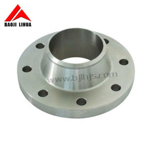 ASTM B381 Gr12 Titanium pipe dn80 pn16 flange for Natural gas