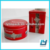 metal cheese cake tin box