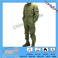 EN11611/EN11612/EN1149 Tank Coverall and tank uniform