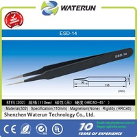 ESD-14 antistatic stainless steel vetus tweezers