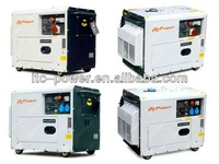 ITCPower DG7500SE 5kW portable silent electric diesel genset supplier chins