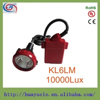 6AH 10000lux high power LED mining lamp,mining head lamps