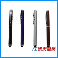 LT-Y460 Multi-functional metal touch pen, laser light pen