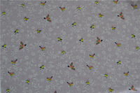 Factory direct-sale 100% polyester bird pattern fabric