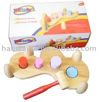 Stocklot Big Wooden Hammer Toy PN81007F,stock toy, stock wooden toy, closeout