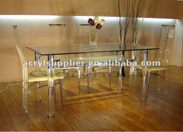 Esstisch Stühle Acryl ~ Graue acryl esstisch und stühle für zu hause& hotelEssstuhlProdukt ID2