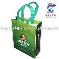 2015 customized pp non-woven shopping bag