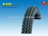 2.50-17 38P 4PR 2013 new china tyre motorcycle tires