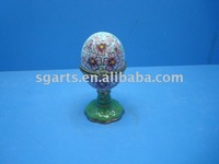 Ceramic trinket box w/ fasion design