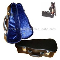 Violin Shaped Wine Cases, Leather Wine Carrier, Wine Box