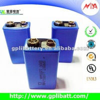 gp er9V 1200mah dry cell car battery