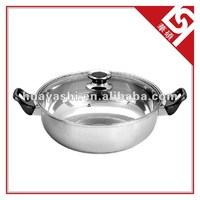 High-quality Stainless Steel Hot Pot 28/30cm for Cookware