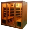seks tv deluxe far Infrared Sauna room