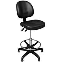 high quality pu seat height adjustable lab stool RF-Z038A