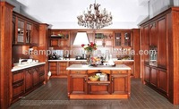 antique pantry kitchen cabinets/custom made solid wood kitchen cabinets