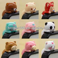 Popular hot selling mobile phone accessories PVC ABS Silicone Vinyl dust plug