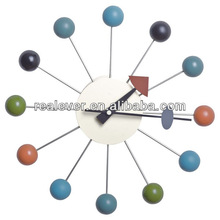 Replica George Nelson multicolor wall clock ball clock