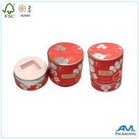 paper packaging hat top and base cosmetic box