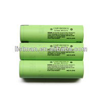 Lithium ion rechargeable 18650 battery CGR18650CG 2250mAh
