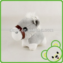 animal horse keychain cheap plush animal toys plush little animals keychain toys