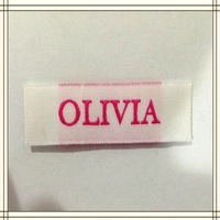 cheap china wholesale kid clothing brand woven labels