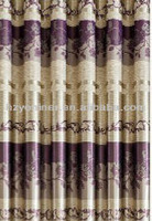 China purple vertical stripe print curtain fabric, animal print fabric