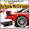 GT3 Car Wing Spoiler With Carbon Leaf For Porsche 911 996 Convertible Carrera GT3