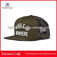 Wholesale High Quality Promotional Popular New Design Custom Print Mesh Snapback Trucker Cap and Hat Sports Cap
