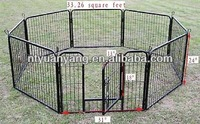 trade asurance Black Heavy Duty strong metal Pet Playpen Exercise Pen