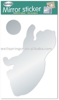 mirror sticker / wall sticker / home sticker mirror 0801
