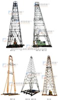 Drilling tower for geological exploration
