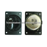 2840 8ohm 3w square acoustic monitor speaker