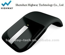 2012 New design foldable wireless mouse , Arc Touch mouse