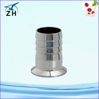 High quality food grade stainless steel flexible hose ferrule